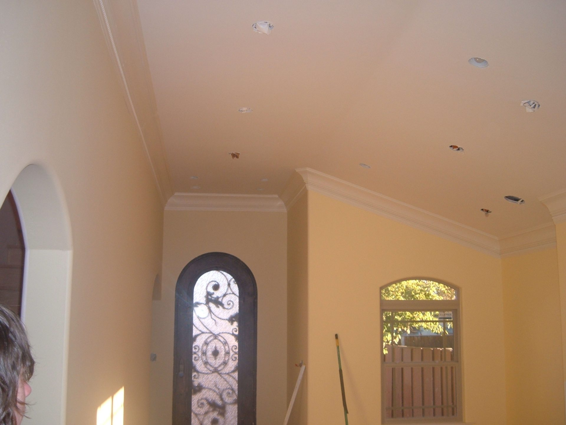 Crown Mouldings, with sloped ceiling (Cupertino)